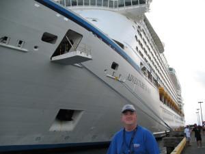 Royal Caribbean's Adventure of The Seas.