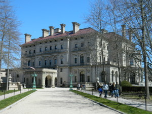 The Breakers, the summer mansion of the Vanderbuilt family, was built by Richard Morris Hunt circa 1895.
