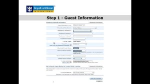 Prior to sailing day, cruise passengers must complete the online check-in process. Online check-in is the way of the world in the cruising industry.